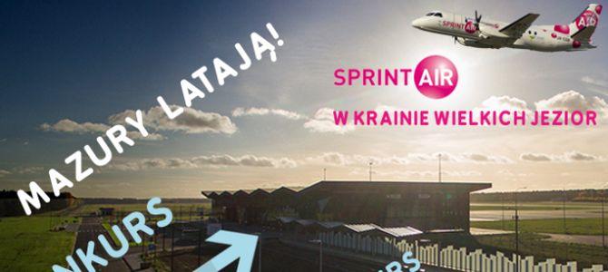 Konkurs: Mazury latają SprintAirem!