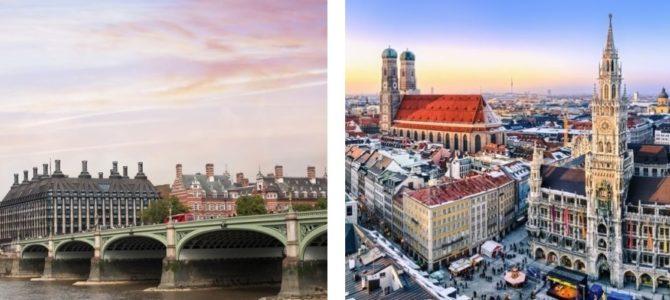 Wkrótce polecimy do Londynu i Monachium