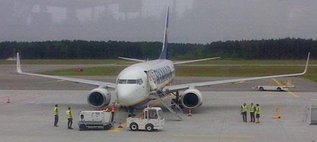 Nowe połączenie Olsztyn-Mazury  –  Londyn Stansted z Ryanair