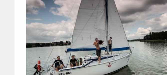 Kursy-szkolenia i obozy żeglarskie na Mazurach 2018
